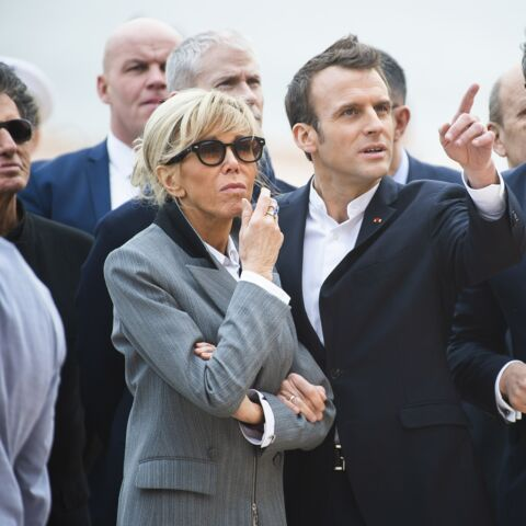 PHOTOS – Ce look de Brigitte Macron qui surprend la presse anglaise