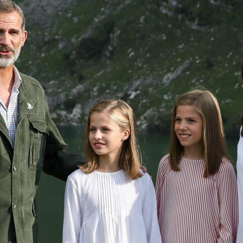 PHOTOS – Felipe d'Espagne a 51 ans: quel papa est-il avec ses deux filles?