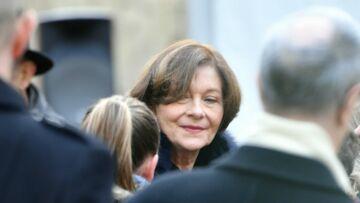 PHOTOS – Obsèques de Michel Legrand: l'émotion de sa veuve Macha Méril soutenue par Brigitte Macron