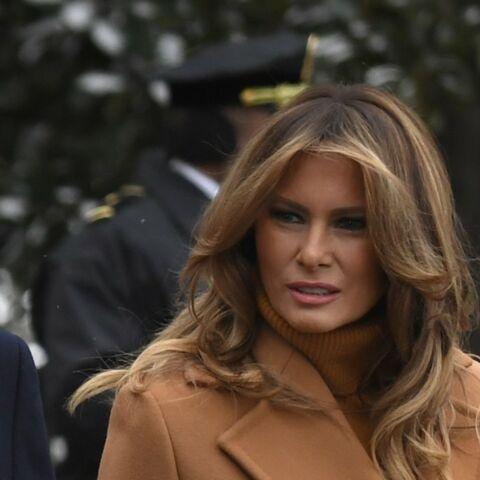 PHOTOS – Melania Trump, un nouveau look à près de 5000 euros qui fait tousser