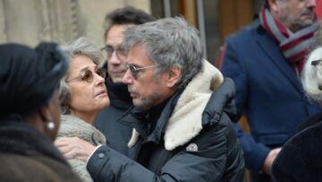 PHOTOS – Obsèques d'Henry Chapier: Marc-Olivier Fogiel, Charlotte Rampling émus pour un dernier hommage