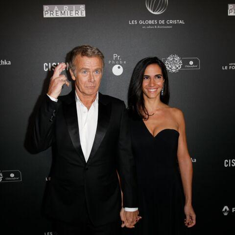 PHOTOS – Franck Dubosc et sa femme Danièle chic et complices à Paris