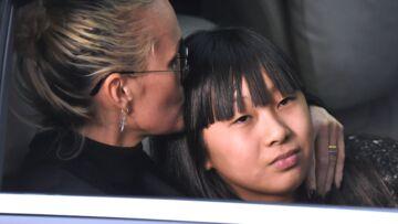 """Jade Hallyday pleure son père et évoque """"les gens qui changent"""""""