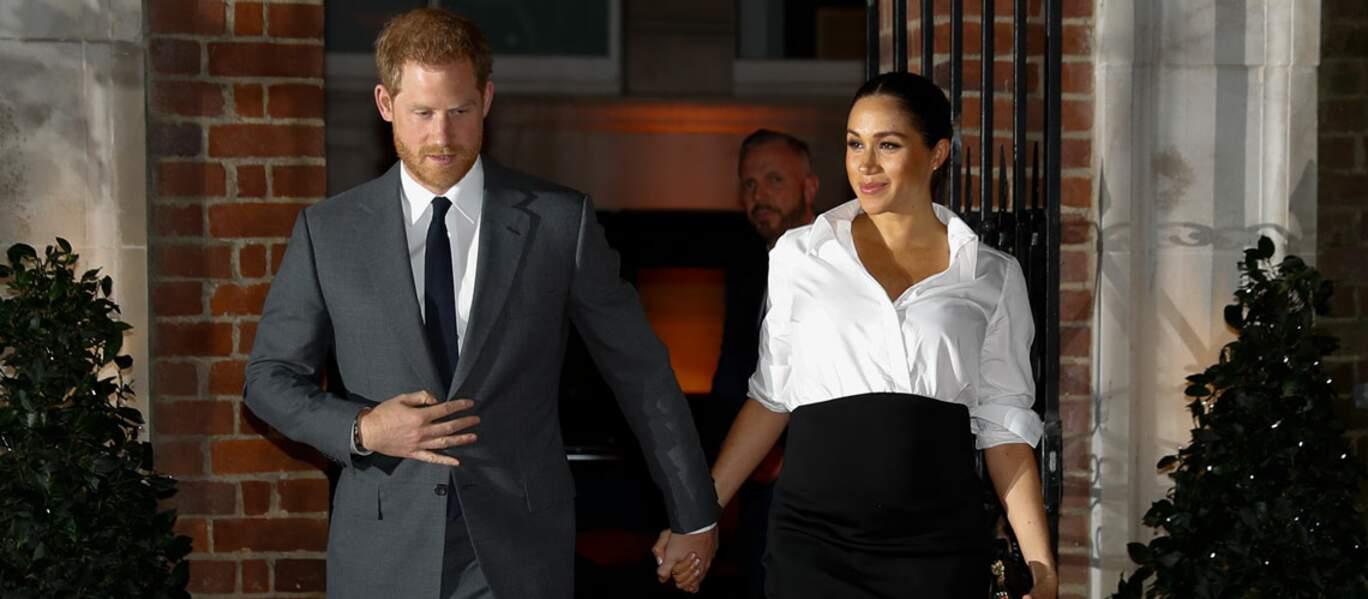 Le duc et la duchesse de Sussex étaient sur leur 31 pour la cérémonie des Endeavour Fund Award, à Londres, ce jeudi