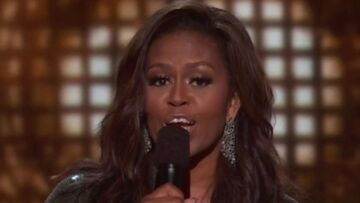 Michelle Obama star des Grammys: l'ancienne first lady acclamée