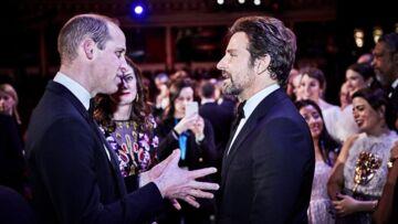 Quand le prince William fait une remarque (un peu) gênante à Bradley Cooper