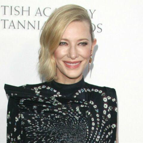 PHOTOS – Cate Blanchett abandonne ses cheveux blonds pour une couleur star en 2019