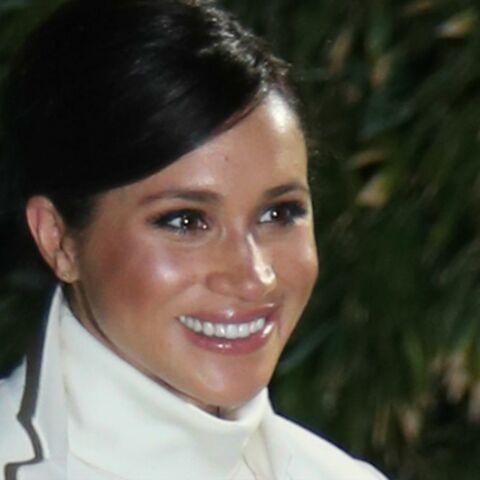 PHOTOS – Meghan Markle en total look blanc: son joli clin d'oeil à Kate Middleton