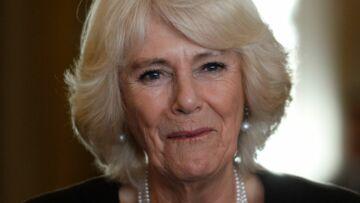 Camilla Parker Bowles amusée par une situation cocasse