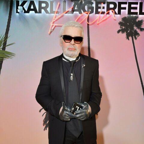 PHOTOS – Karl Lagerfeld: ses cheveux noués en catogan et sa barbe décryptés