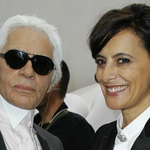 Inès de la Fressange, encore amusée par sa première rencontre avec Karl Lagerfeld