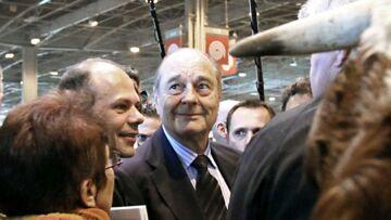 VIDÉO – Le geste surprenant de Jacques Chirac au Salon de l'agriculture