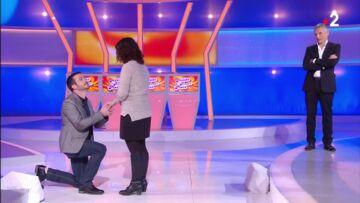 VIDEO – Nagui ému par un candidat qui fait sa demande dans Tout le monde veut prendre sa place