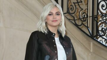 PHOTOS – Louane ose le blond polaire