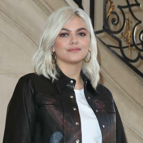 PHOTOS – Louane ose le blond polaire
