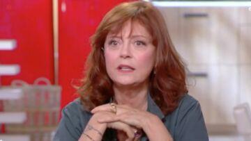 VIDEO – Susan Sarandon, l'actrice culte de Thelma et Louise commente une photo d'elle sans soutien-gorge