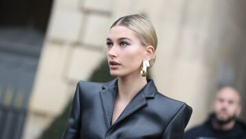PHOTOS – Hailey Baldwin, madame Justin Bieber, ultra rock pour la Fashion Week à Paris