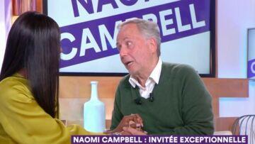VIDÉO – Fabrice Luchini, subjugué par Naomi Campbell, provoque la gêne en plateau