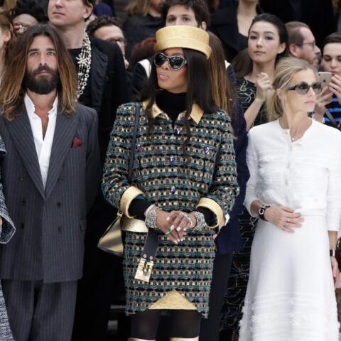 PHOTOS – Kristen Stewart, Monica Bellucci, Claudia Schiffer: toutes chez Chanel pour ce défilé marqué par la disparition de Karl Lagerfeld