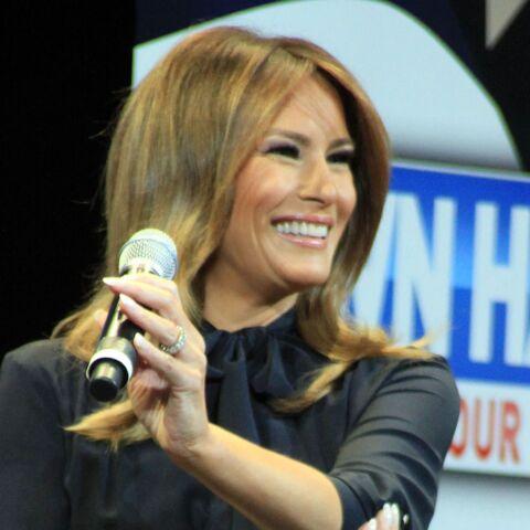 PHOTOS – Un nouveau look polémique pour Melania Trump, la first lady persiste et signe