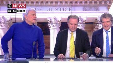 VIDÉO – Quand Bernard Tapie en colère, menace de nouveau de quitter une émission en direct