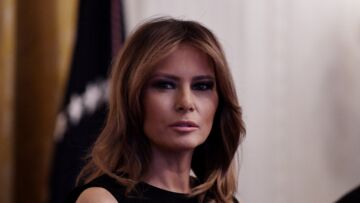 Melania Trump face à une question gênante, elle sort les griffes