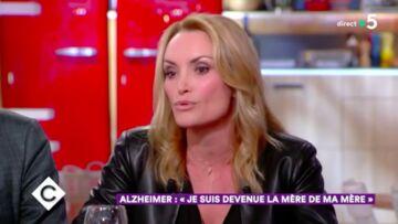VIDÉO – Christelle Bardet, la compagne de Laurent Gerra, évoque la maladie de sa mère