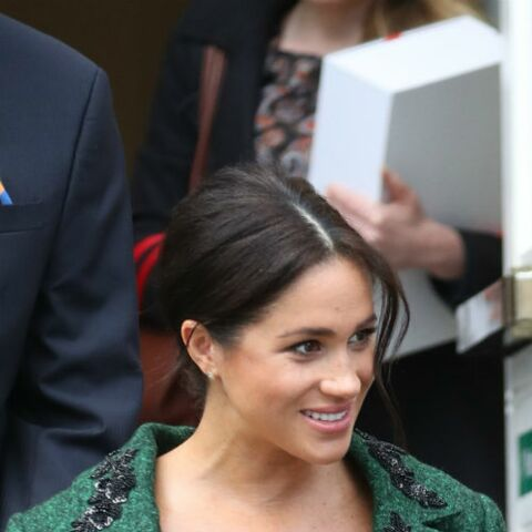 PHOTOS – Meghan Markle ultra tactile avec Harry: la duchesse folle amoureuse de son prince
