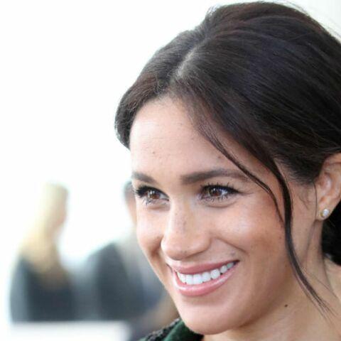 PHOTOS – Meghan Markle très élégante en manteau vert: son double clin d'œil à Kate Middleton