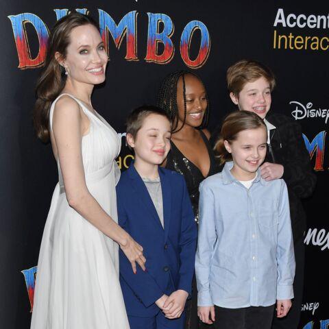 PHOTOS – Zahara, la fille d'Angelina Jolie, vêtue d'une robe audacieuse à 14 ans