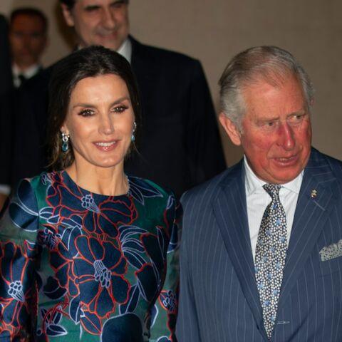 PHOTOS – Le prince Charles et Letizia d'Espagne très tactiles et complices à Londres