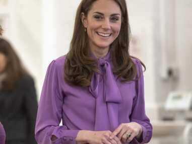 PHOTOS - Kate Middleton, Melania Trump, toutes fans du col lavallière
