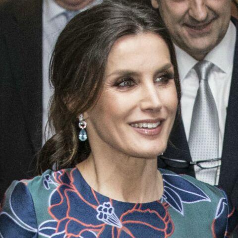 PHOTOS – Letizia d'Espagne ravissante en robe fleurie pour retrouver le prince Charles