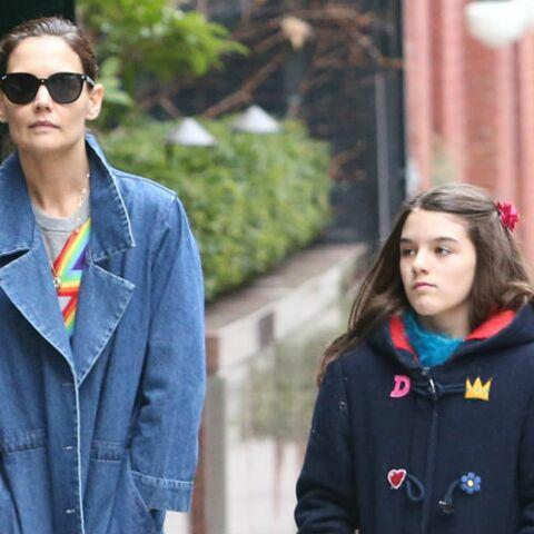 PHOTOS – Katie Holmes: sa fille Suri ressemble de plus en plus à son père Tom Cruise