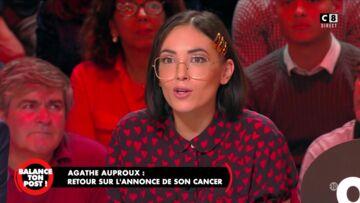 Agathe Auproux évoque son combat contre le cancer: «Je me persuadais que je n'étais pas malade»