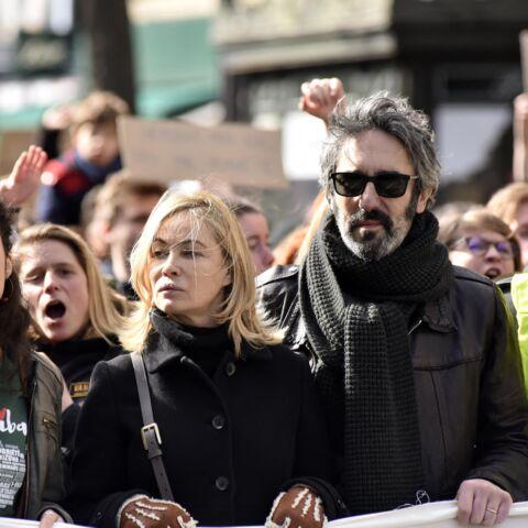 PHOTOS – Emmanuelle Béart et son mari en tête de la Marche pour la planète