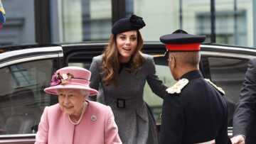 PHOTOS – Kate Middleton: en 8 ans de mariage avec William, c'est la 1e fois qu'elle sort en solo avec la reine