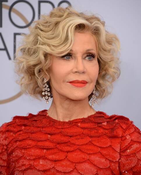 Jane Fonda sait comment rester jeune à 80 ans : fitness, rouge à lèvres éclatant et sourire velours