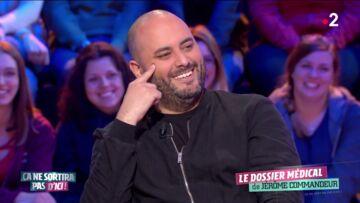 VIDÉO – Quand Michel Cymes interroge Jérôme Commandeur sur son poids et provoque l'embarras