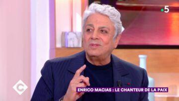 """VIDEO – Enrico Macias """"engueulé"""" par Carla Bruni pour un choix personnel"""
