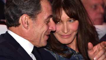 Quand Carla et Nicolas Sarkozy se roulent une «pelle monumentale»