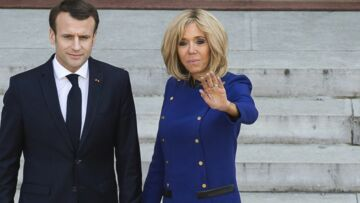 PHOTOS – Brigitte Macron aux couleurs de l'Europe: la première dame engagée