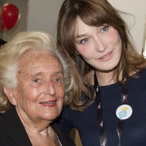 Quand Carla Bruni subissait une inspection de Bernadette Chirac à l'Elysée