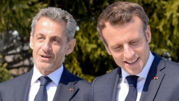 PHOTOS – Nicolas Sarkozy a écouté sa femme Carla Bruni: face à Emmanuel Macron, il porte une barbe de 3 jours
