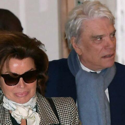 PHOTOS – Bernard Tapie: Dominique, son épouse et premier soutien au tribunal