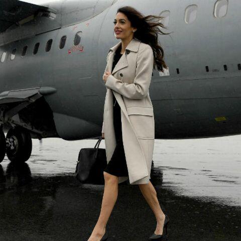 PHOTOS – Amal Clooney fait une apparition remarquée… en Bretagne!