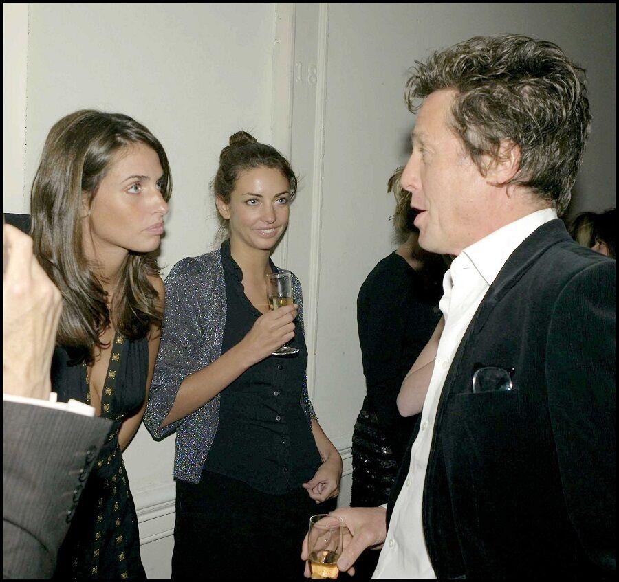 Rose, sa soeur Marina et Hugh Grant en 2007
