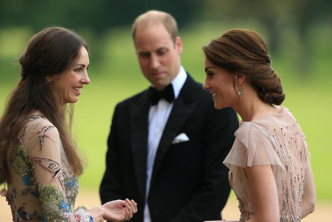 William entre Kate et son ex amie Rose Hanbury, sa prétendue maîtresse