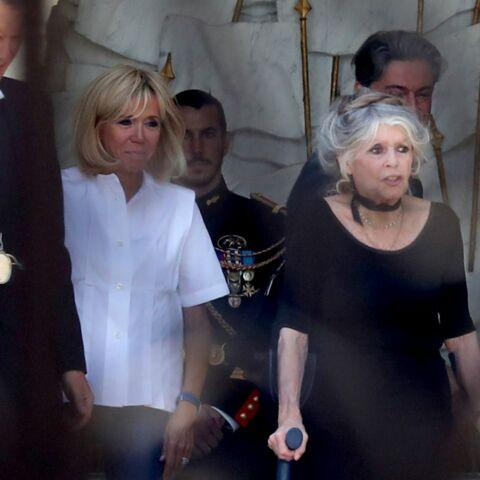 Brigitte Macron, gratifiée d'un cadeau très coquin par Brigitte Bardot