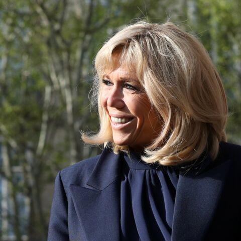 PHOTOS – Brigitte Macron, toujours chic, recycle une robe pour la troisième fois en un mois